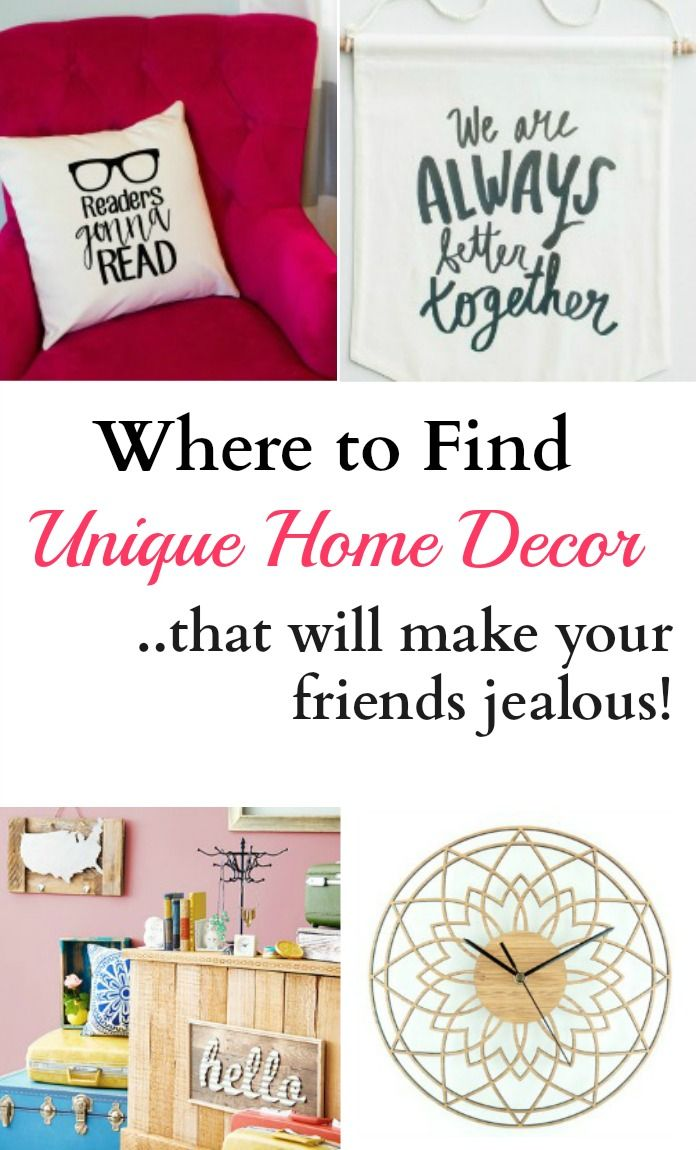 Where to Find Unique Home Decor Unique Spaces and Frugal living