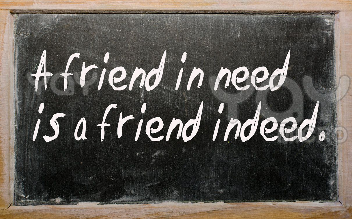 a friend in need is a friend indeed story pdf