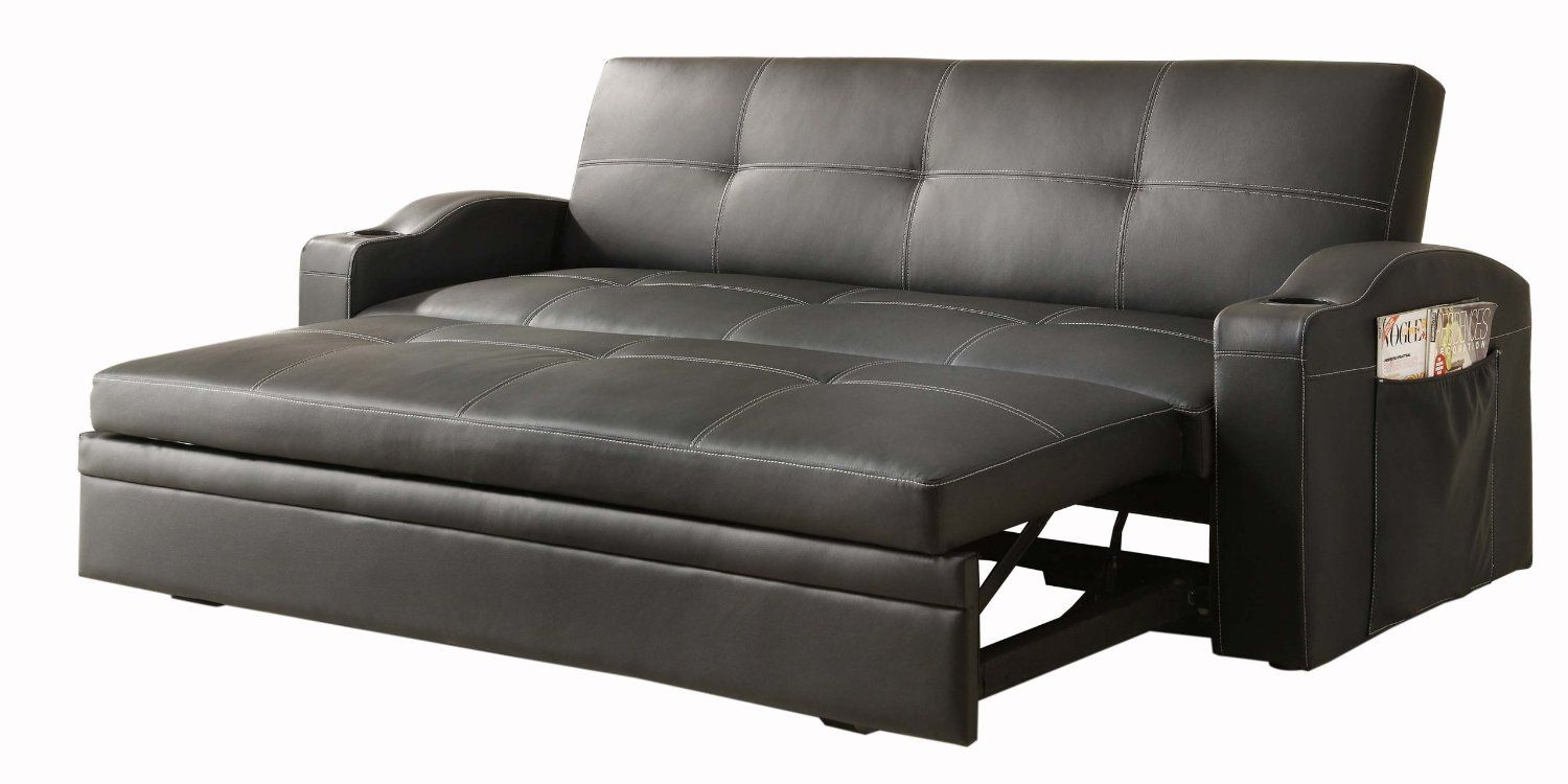 Most Comfortable Convertible Couches The First Homelegance 4803blk Convertible Adjustable Sofa Bed