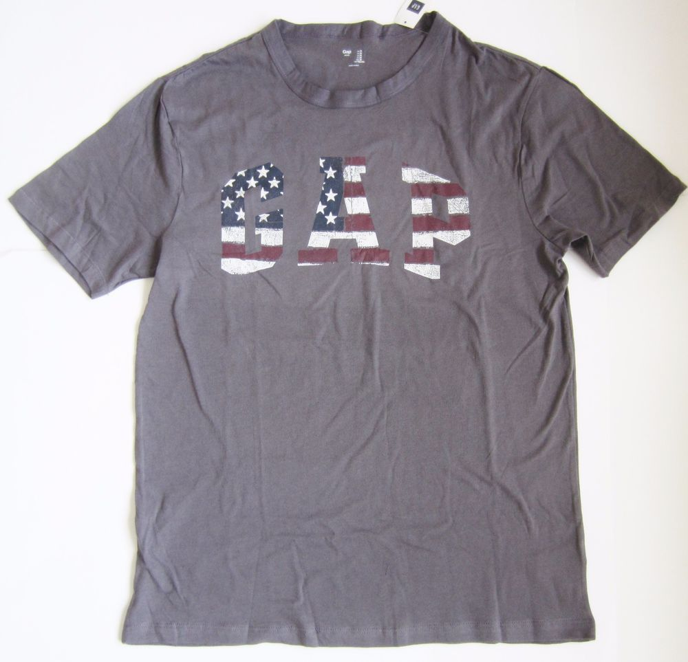 M NWT Gap Women`s Favorite Crewneck Short Sleeve Tee T Shirt Top Blue Size S