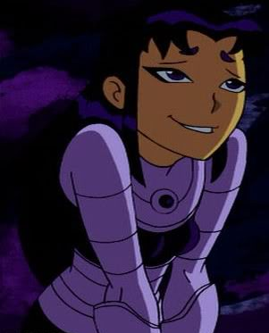 Teen titans starfire black fire apologise