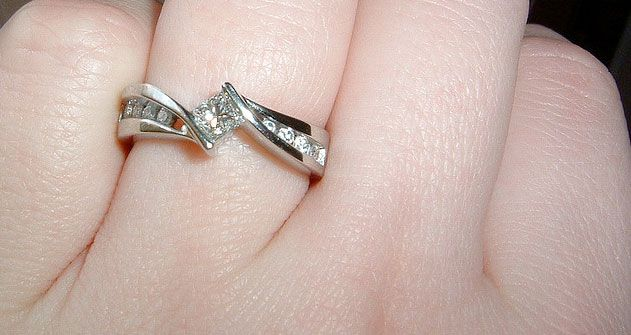Perfect For Your Love Enement Ring Finger
