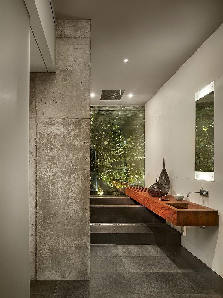 Penthouse Bathroom Design ducha-bañera Pinterest Baños, Baño y - Baos Modernos Con Ducha Y Baera