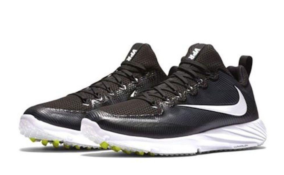 Nike vapor speed turf mens 12 black white 848334 010 new