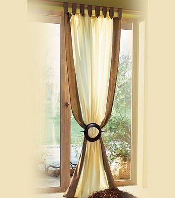 cortina para un dormitorio matrimonial Fotos de Cortinas para Habitaciones Matrimoniales  Dormitorio  Valance curtains Curtains y Window coverings