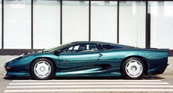 Jaguar xj220 0 60