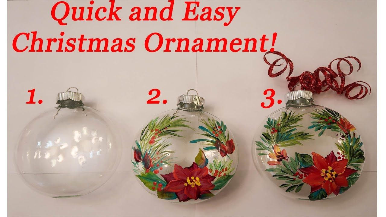 Make A Christmas Ornament Diy Youtube Diy Christmas Ornaments Easy Christmas Ornaments Christmas Tree Decorations To Make