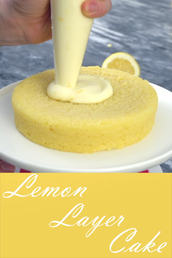 How to make a 3 tier lemon cake with an ombre buttercream frosting. Perfect for Wedding cakes #preppykitchen #weddingcakes #desserts #lemoncake #ombrefrosting