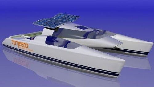 Tony Grainger Velocity 7 Solar Powered Catamaran Boat