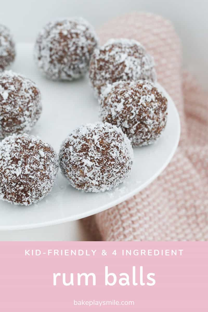 Kid Friendly Rum Balls Recipe Rum Balls Balls Recipe Rum Cake Recipe