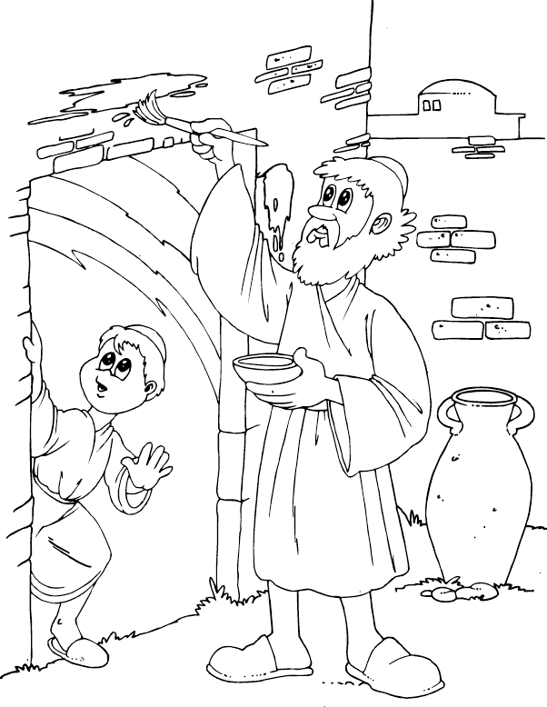 passover plagues coloring pages - photo#2