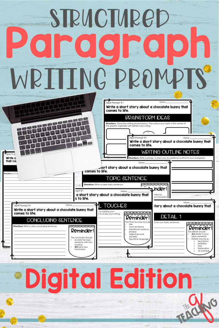 Guided Paragraph Writing Taught In 7 Simple Steps The Teaching Q Paragraph Writing 4th Grade Writing Prompts Third Grade Writing [ 1102 x 735 Pixel ]