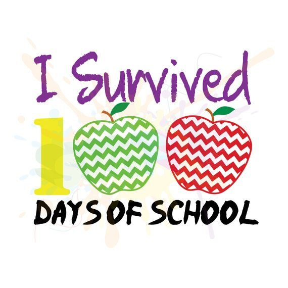 100 Days of School SVG Files, School SVG, 100 Days SVG, Teacher