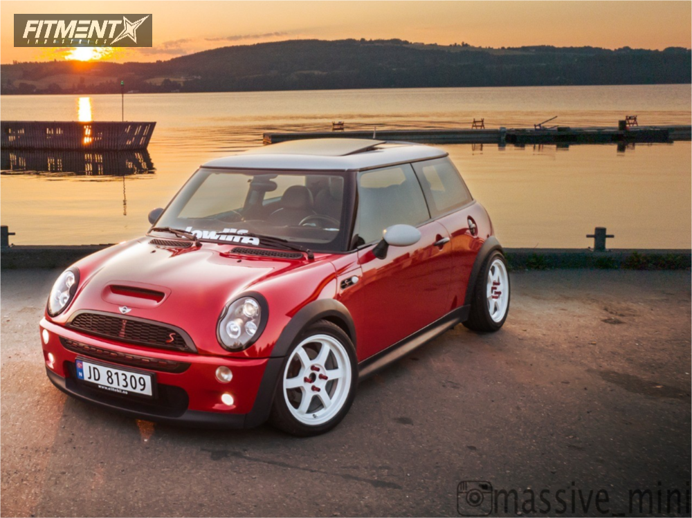 1 2002 Cooper Mini Ta Technix Coilovers Rota Grid White Www Fitmentindustries Com Mini Cooper Coilovers Mini