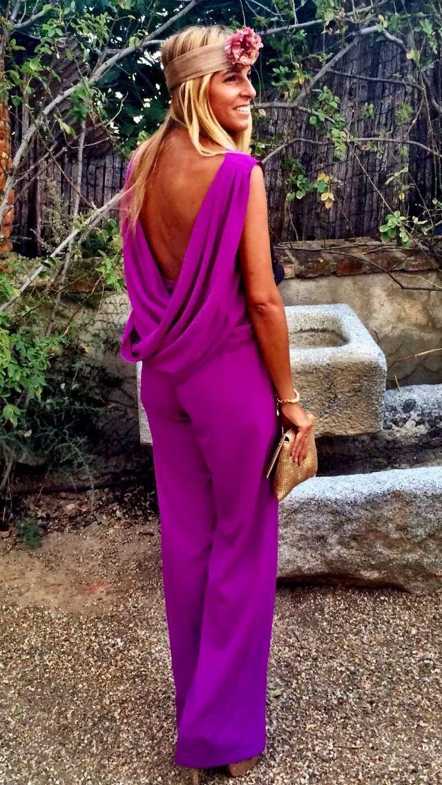 Lá mas mona | Style me pretty | Pinterest | Tocado, Monos de vestir ...