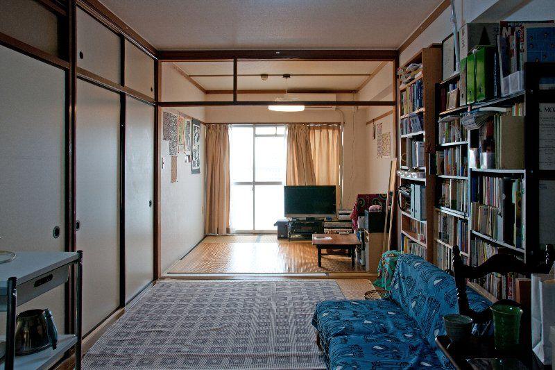 借りて住む 団地不動産 団地インテリア 和室 インテリア 6畳 ワンルーム インテリア