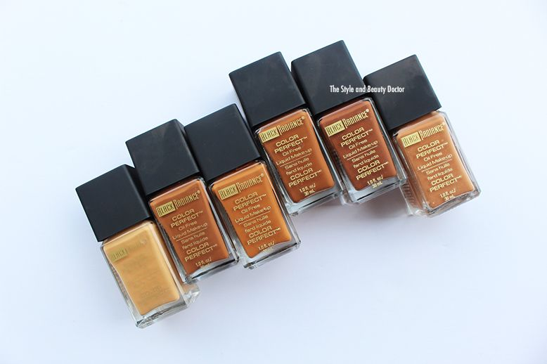 Color Perfect Liquid Make-Up by black radiance #15