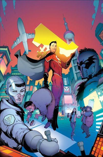 Galaxy Fantasy: China tiene un nuevo héroe basado en Superman