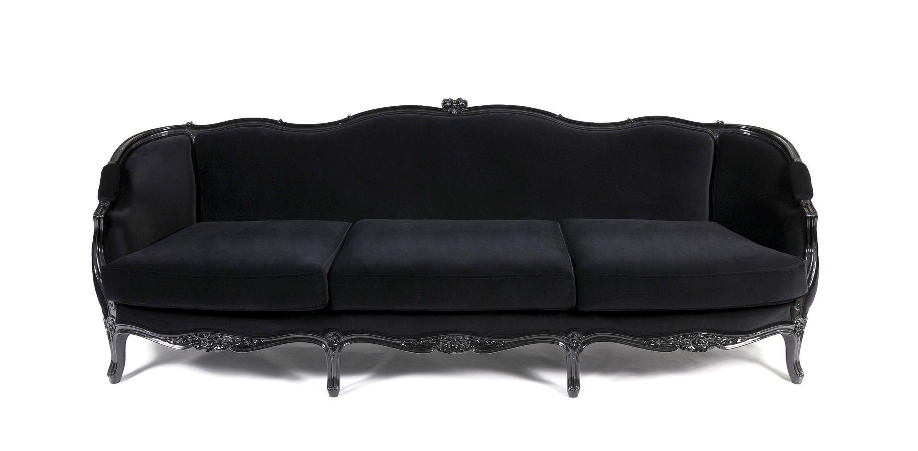 Fancy Black Sofa Designs For Beautiful Living Room Beautiful