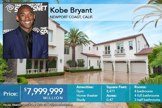 Kobe Bryant Celeb House Of The Week Relator Com Kobe Bryant