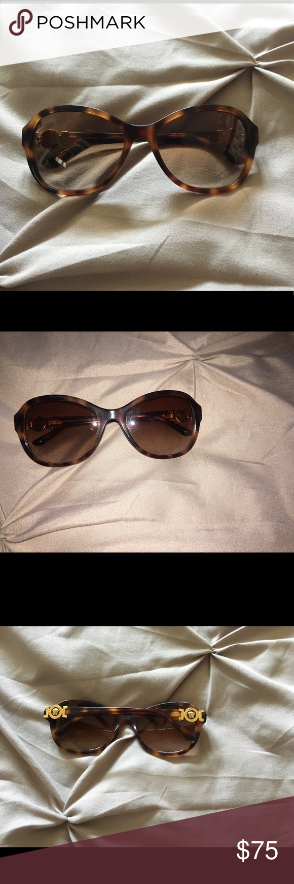 21321823e1d8 Spotted while shopping on Poshmark  Gently used Versace Sunglasses!   poshmark  fashion  shopping  style  Versace  Accessories