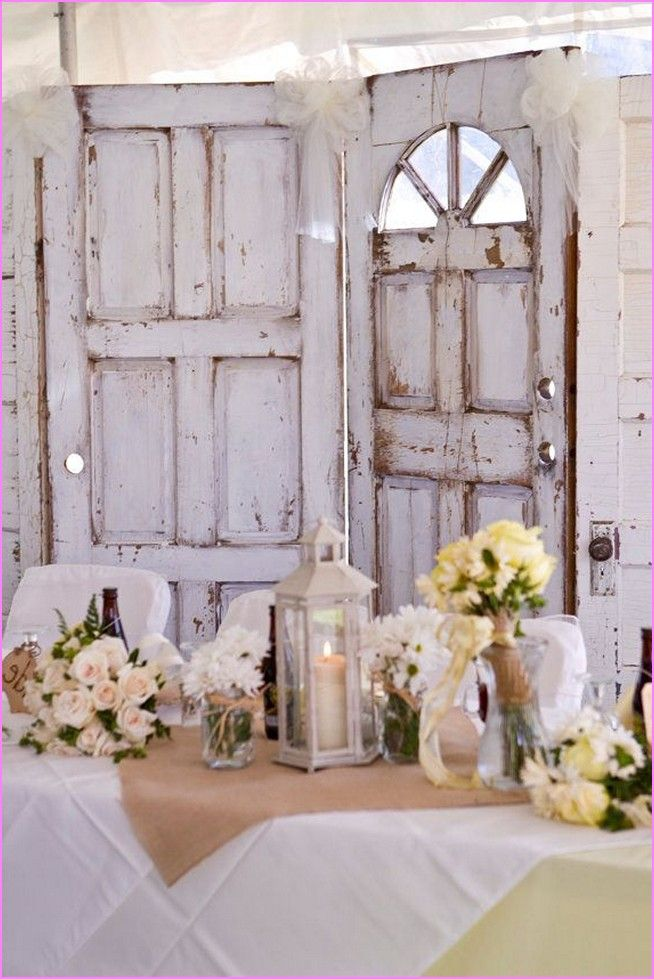 Shabby chic wedding decor pinterest home design ideas for Wedding home decoration ideas