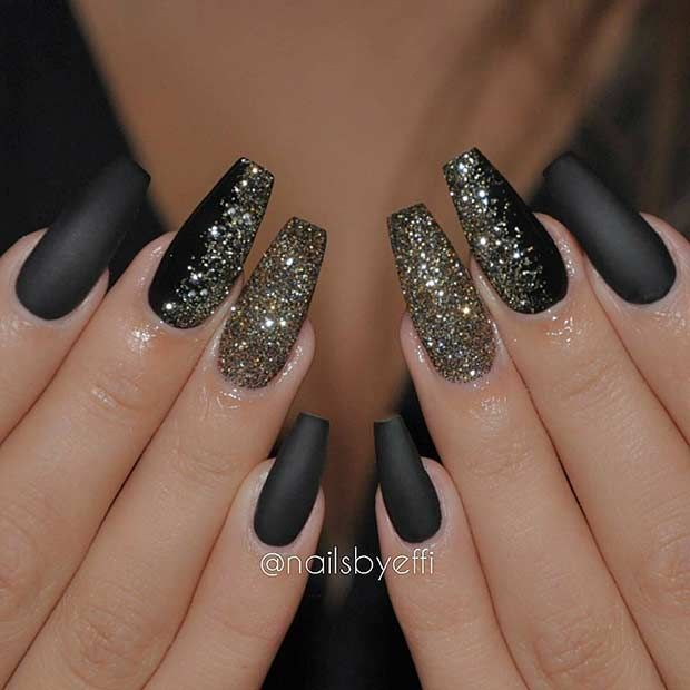 31 Snazzy New Year\u0027s Eve Nail Designs