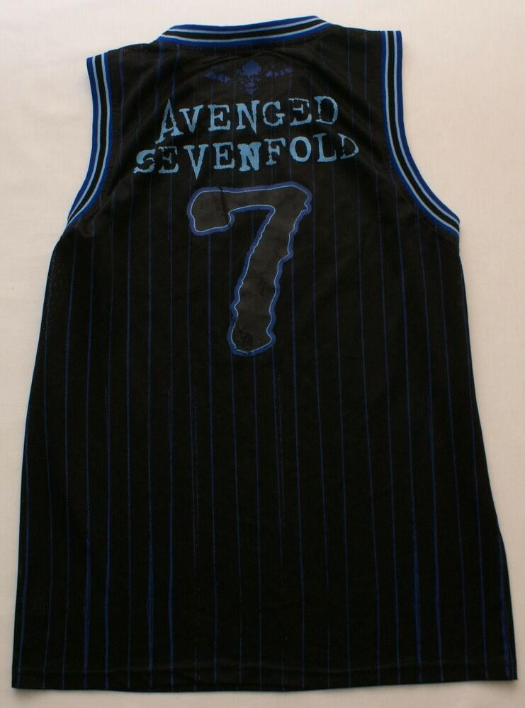 5c8d5bec2 Avenged Sevenfold A7X Mens Sz Large Sleeveless Jersey Tank Top Stripes |  Sporting Goods, Cycling, Cycling Clothing | eBay!