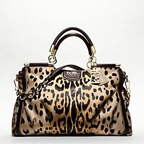 Coach Leopard Print Love This Bag