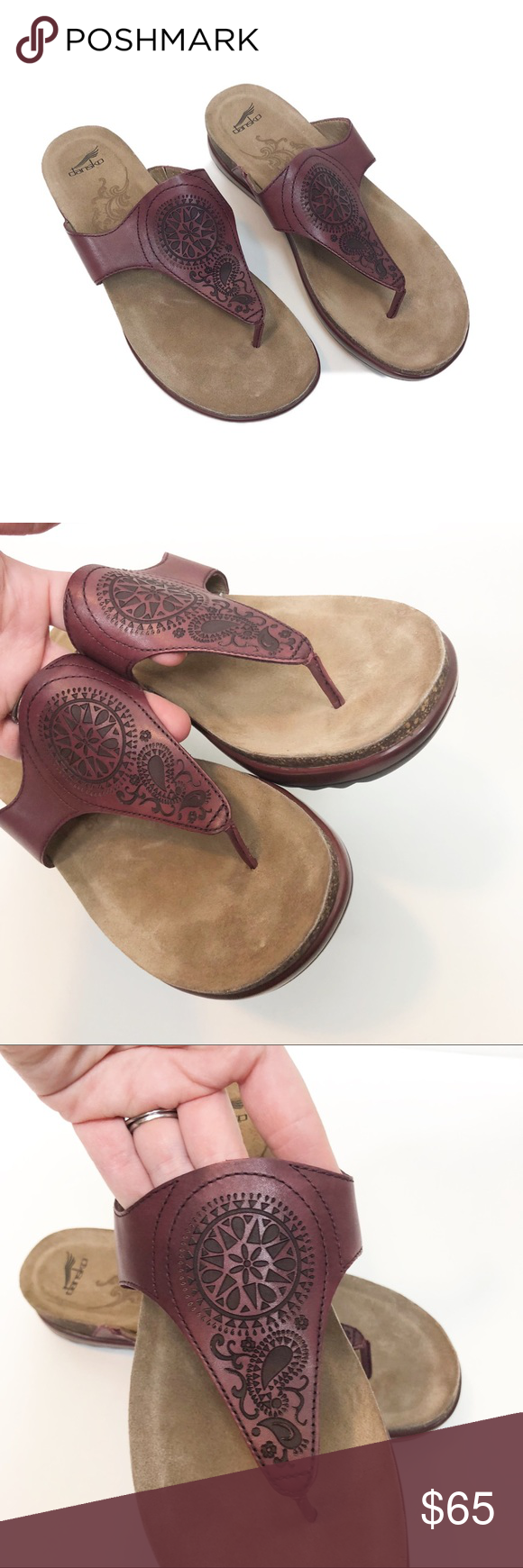 4eb62c159e8d Dansko Priya Flip Flop Sandals women s size 40 Very good preowned condition  to be conservative but these really show no signs of wear.