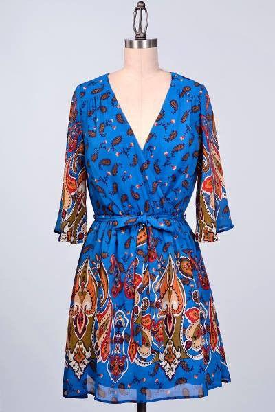 Tilia Dress in Teal