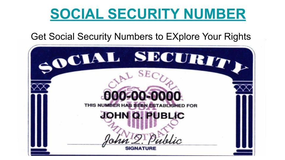 Buy novelty social security card and buy fake ssn online