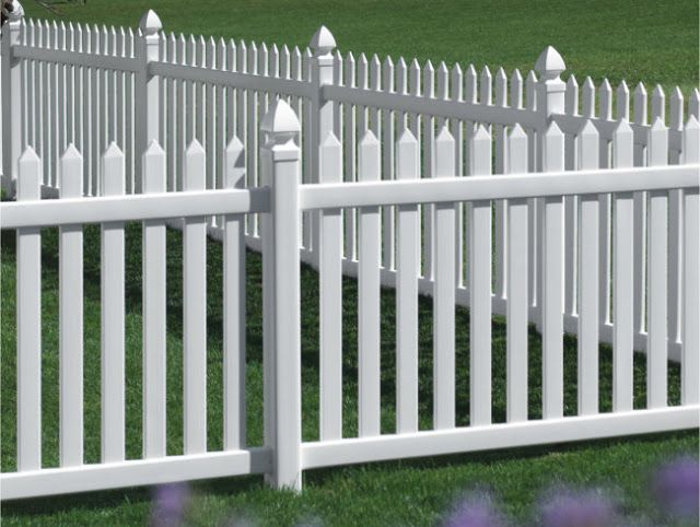White Vinyl Fencing Ideas Your Danbury Picket Fence Online About Bufftech