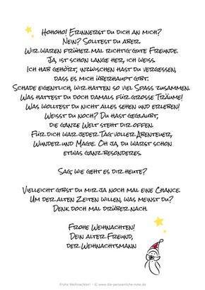 Adventskalender 2014 Nett Und Originell Ist Der Gruss Vom Weihnachtsmann Nein Der Ist Eben Nicht Fu Adventkalender Adventskalender 2014 Weihnachten Spruch