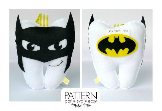 Superhero Tooth Fairy Pillow Pattern