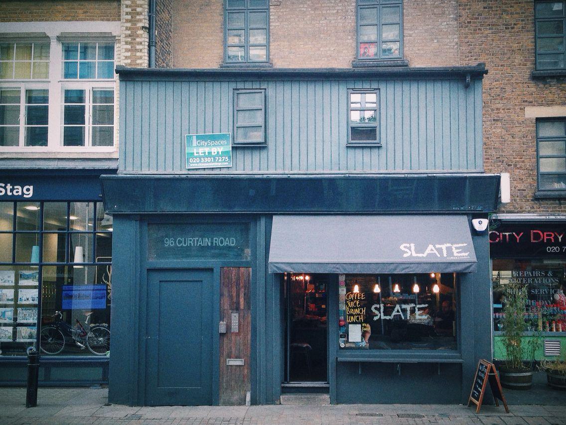 slate #cafe #coffeeshop #shoreditch #london. photo: rob bentley