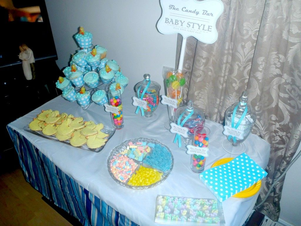 Attractive Ducky Theme Baby Shower
