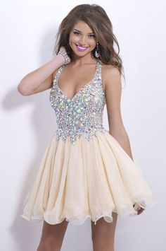 2016 New Arrival Champagne Chiffon | Short homecoming dresses 2015 ...