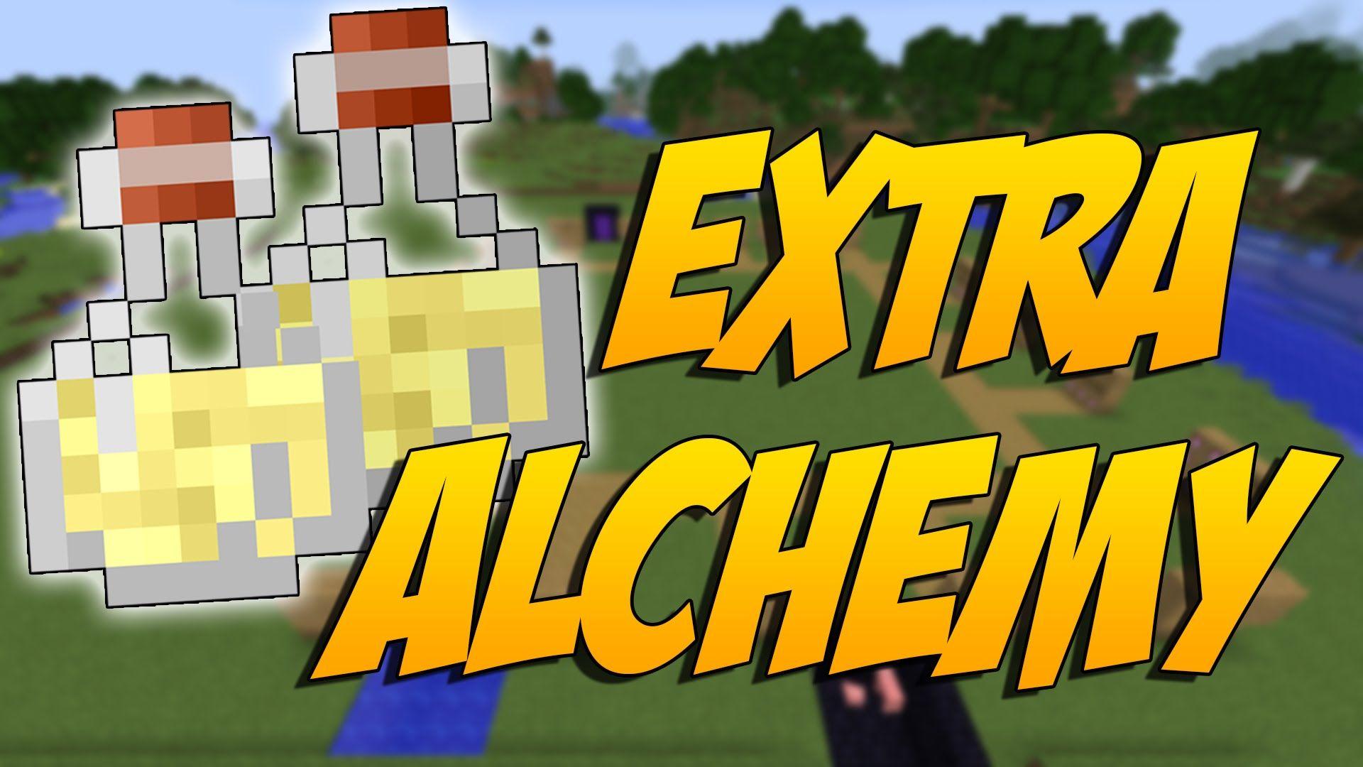 EXTRA ALCHEMY MOD: Como Hacer Las Mejores Pociones En Minecraft ...