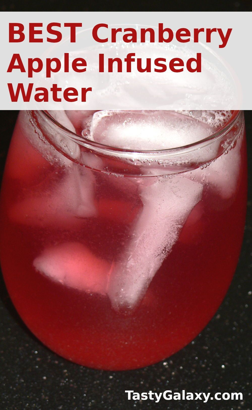 Instant Pot Cranberry Apple Infused Water Recipe Recipe In 2020 Infused Water Recipes Water Recipes Unique Recipes