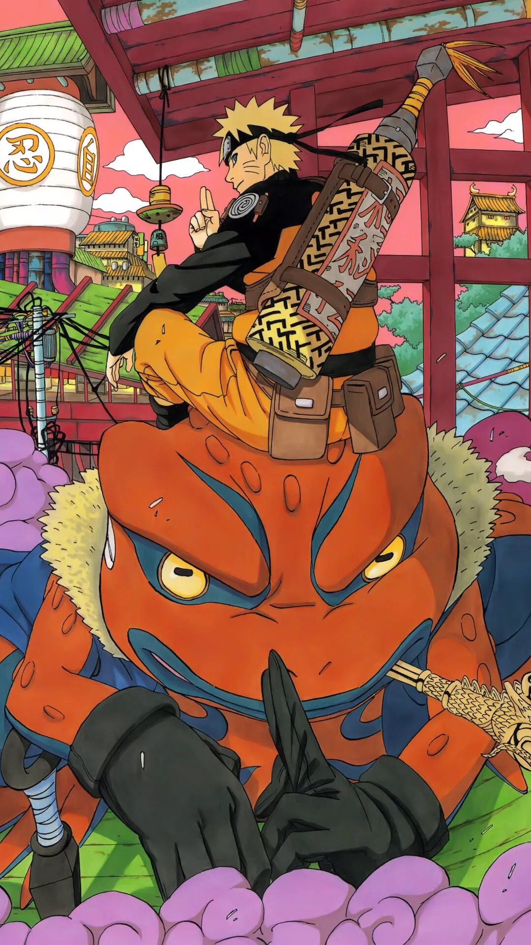 Naruto Jutsu Des Vertrauten Geistes Naruto Shippuden Anime Anime