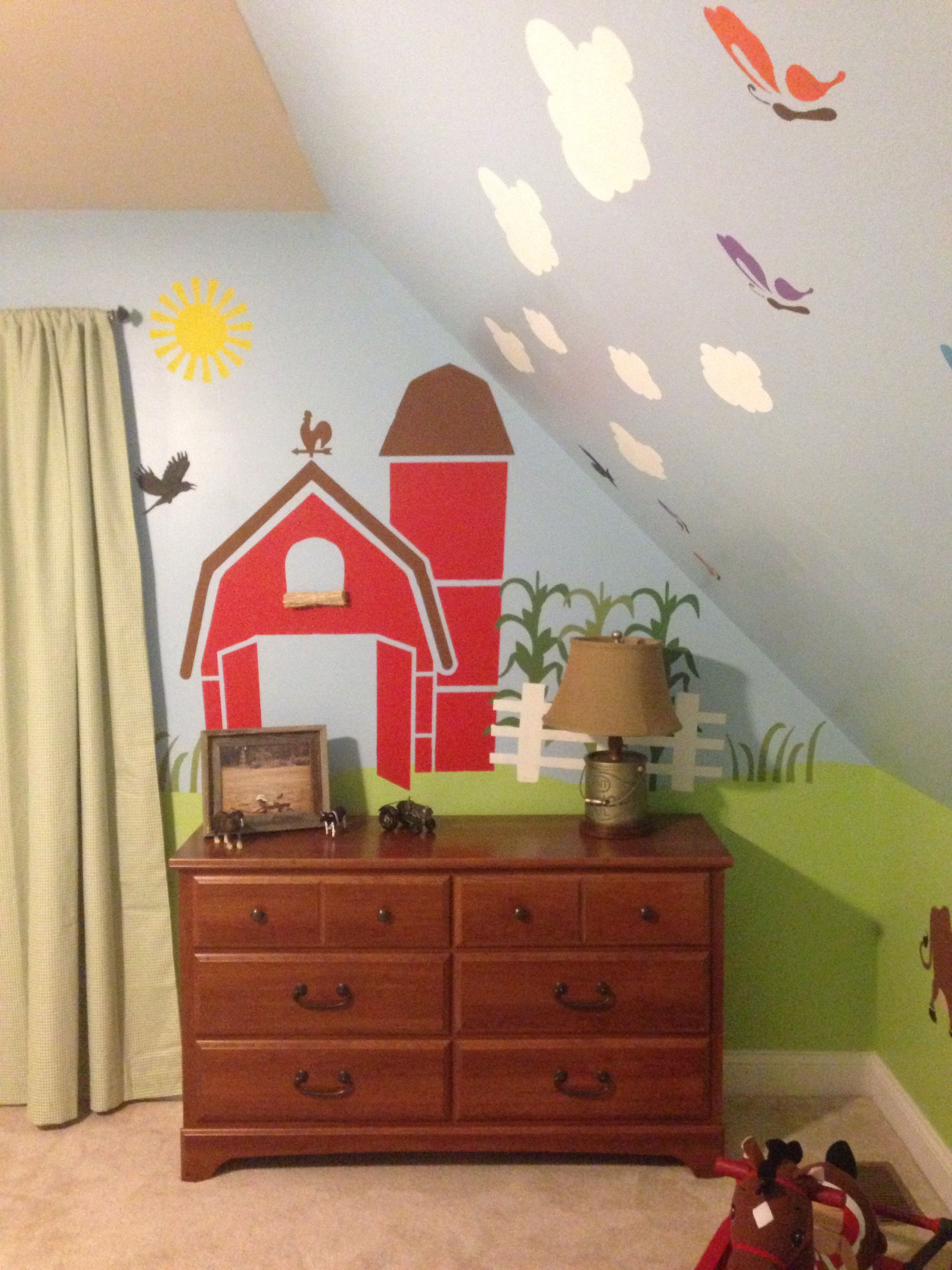 Farm theme bedroom ideas on Pinterest | John Deere Bedroom, Farm Theme ...