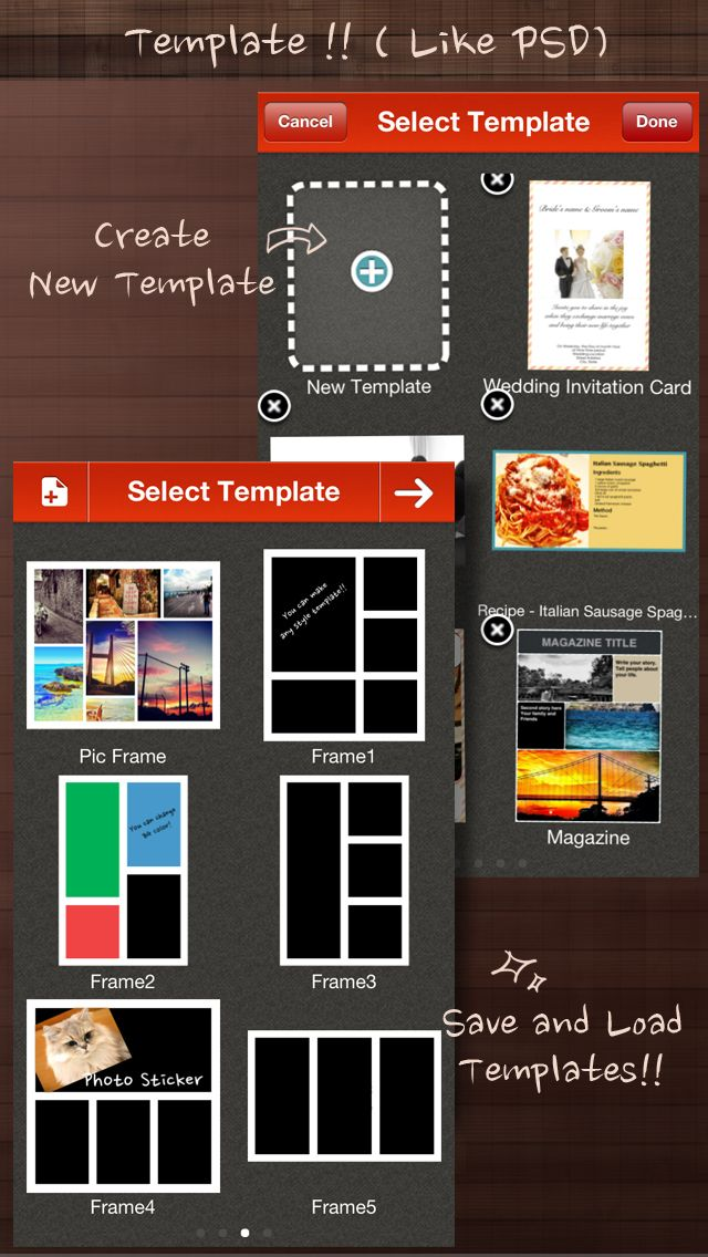 Frame Artist Pro - Photo Collage Editor - Design Scrapbook by Pic ...