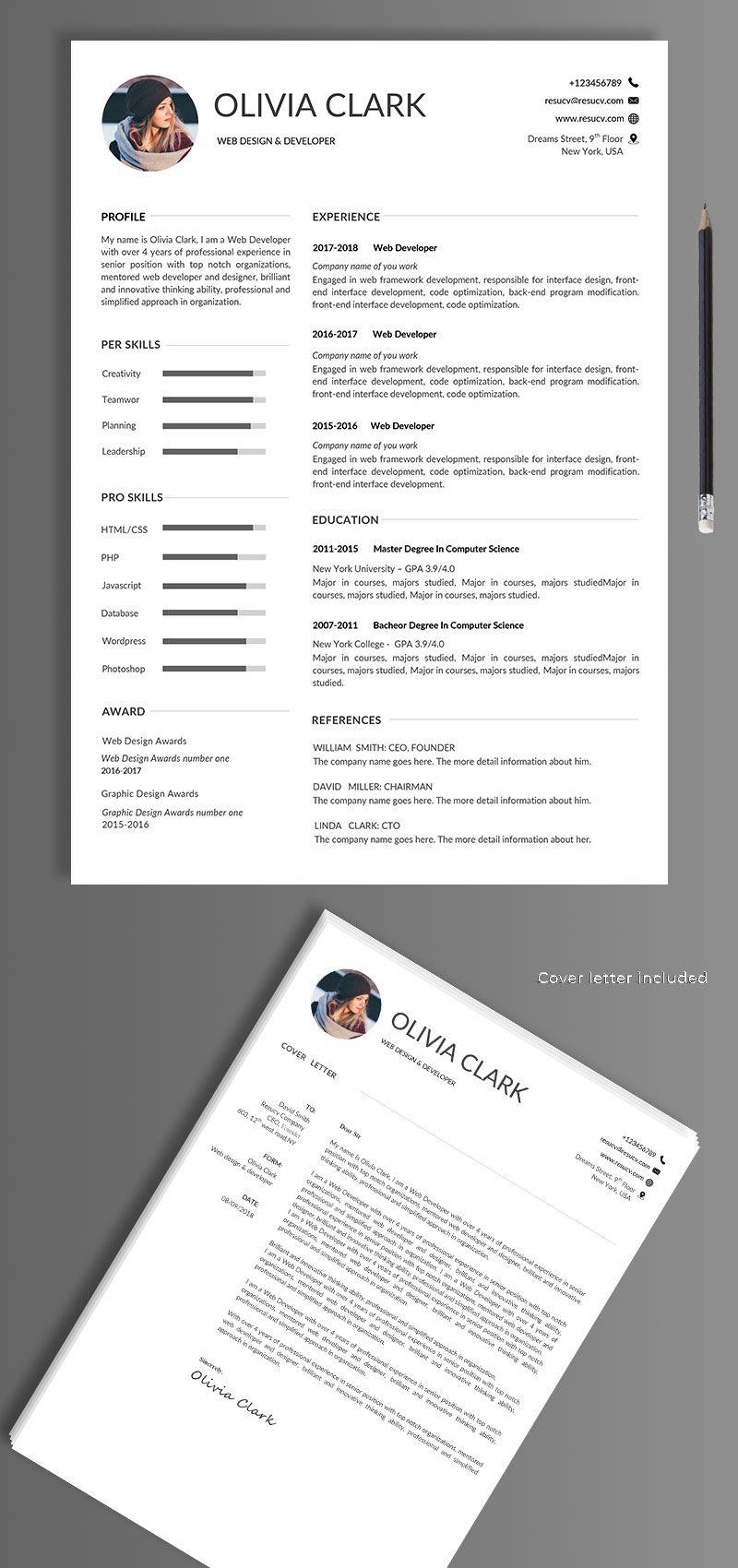 Easy Resume Examples Easy Resume Template Education Resume Simle Resume Effective Resume Effective Resum Cv Template Cover Letter Example Administrative Resume