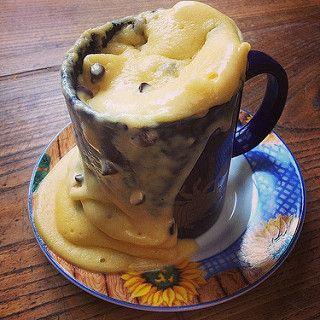 Mug Cake Au Yaourt Et Aux Pepites De Chocolat Au Micro Ondes