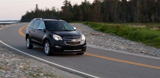 2013 Chevrolet Equinox Ltz In Black Granite Metallic Extra Cost
