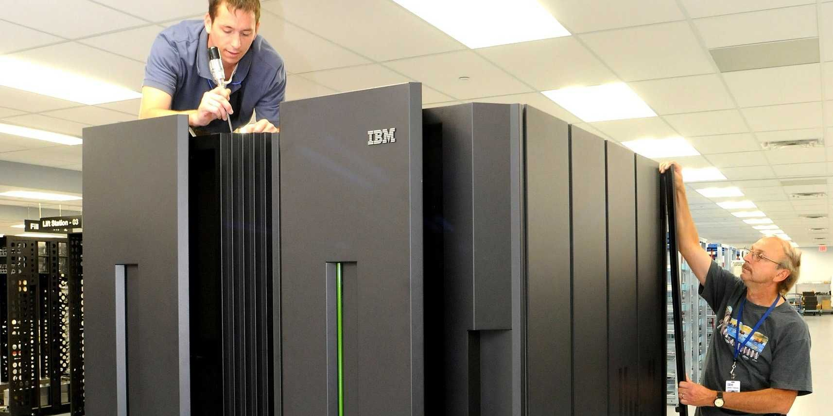 IBM was saved this quarter by one of its oldest product