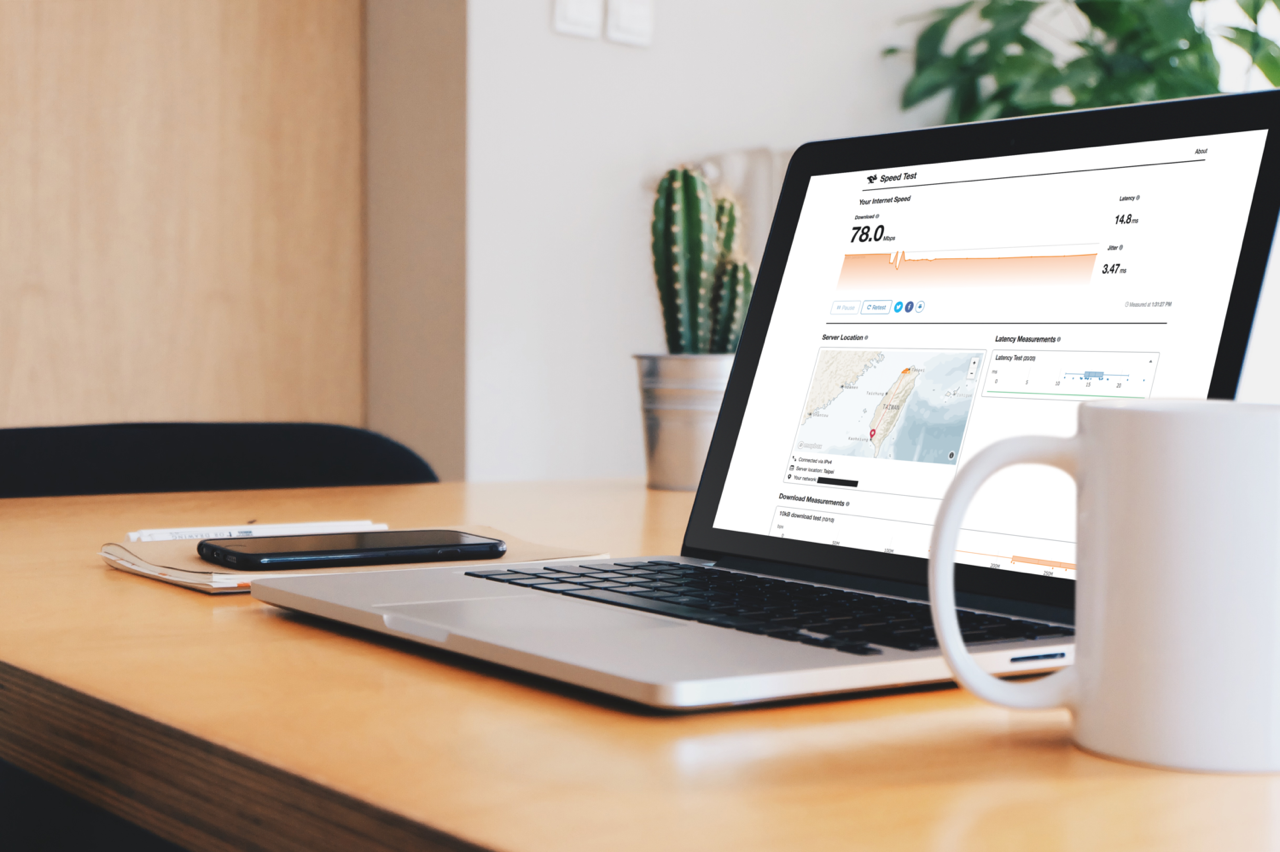 Cloudflare Speed 免費網路測速服務,可測網路速度、延遲和抖動情形 in 2020