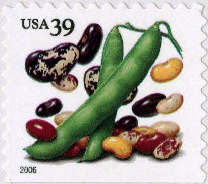 39 Cent Stamp Corn Beans Squash