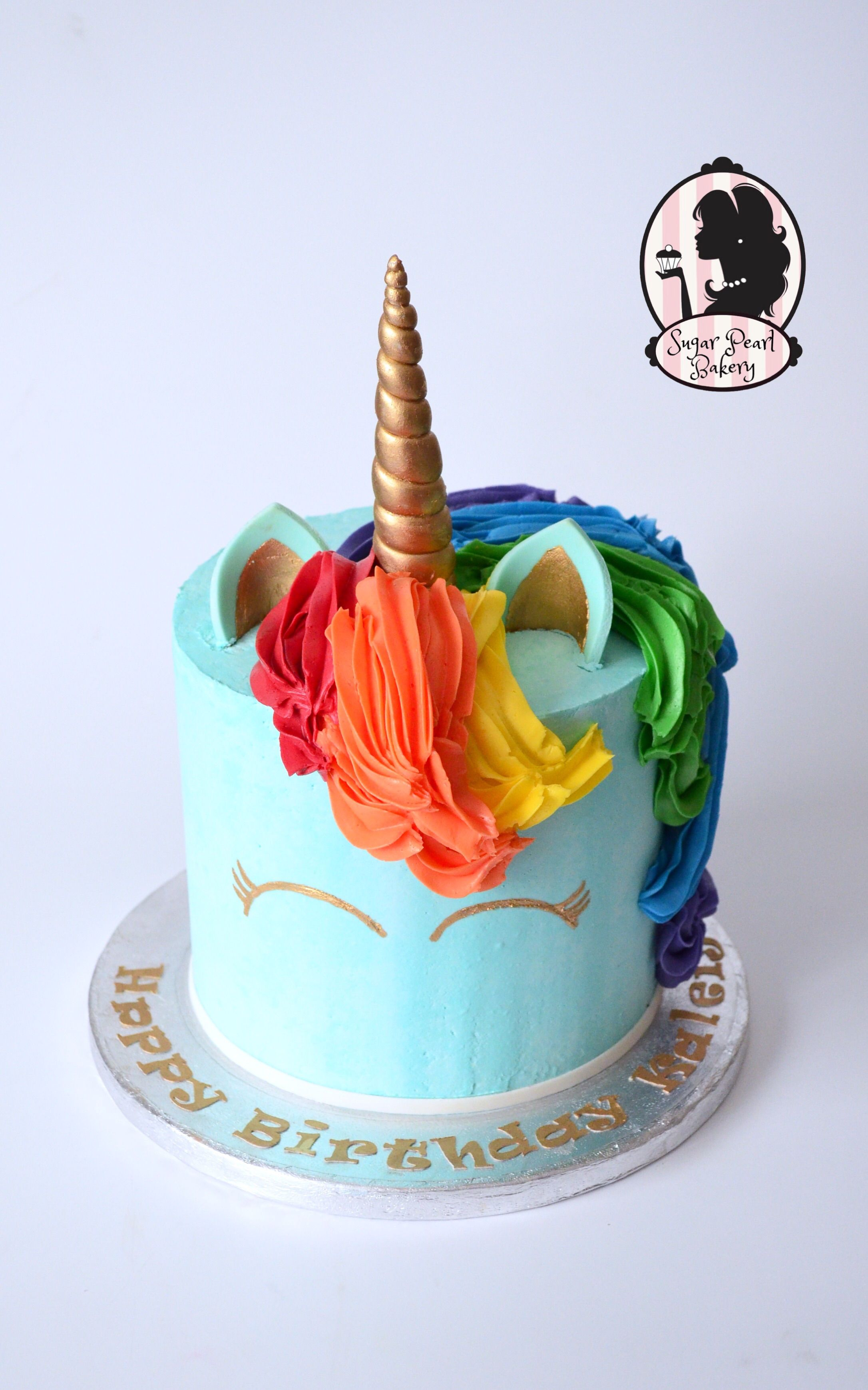 Rainbow dash unicorn birthday cake my little pony bake for Rainbow dash cake template